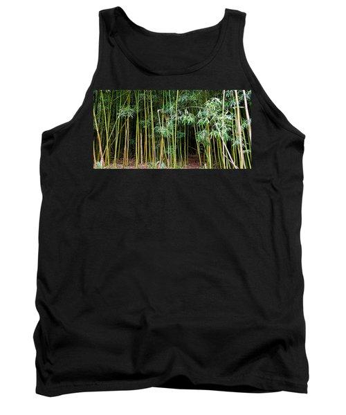 Bamboo Wind Chimes  Waimoku Falls Trail  Hana  Maui Hawaii Tank Top by Michael Bessler