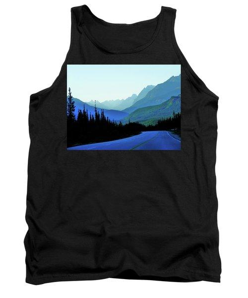 Banff Jasper Blue Tank Top