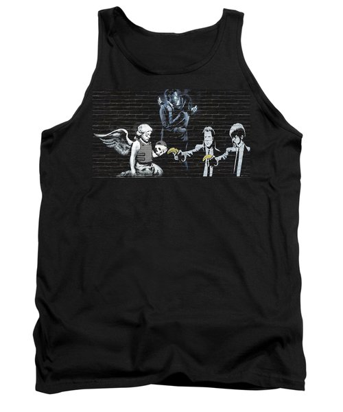 Banksy - Failure To Communicate Tank Top