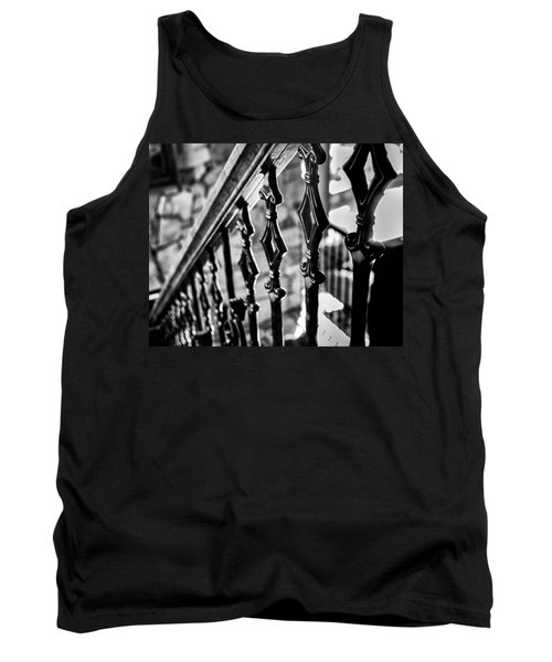 Bannister B_w Tank Top