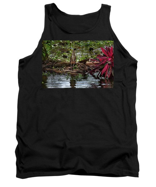 Bare-throated Tiger-heron Tank Top by James David Phenicie