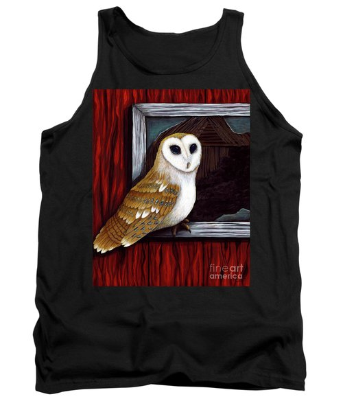 Barn Owl Beauty Tank Top