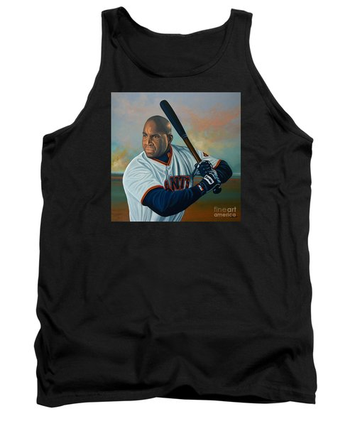 Barry Bonds Tank Top by Paul Meijering