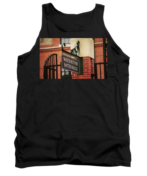Baseball Warning Tank Top