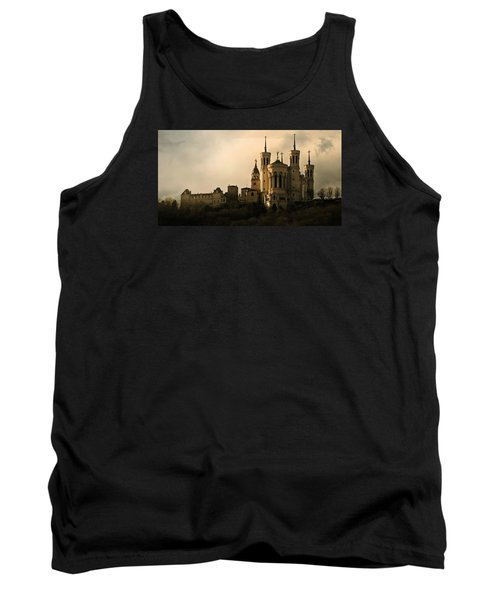 Basilica Of Our Lady Of Fourviere  Tank Top by Katie Wing Vigil