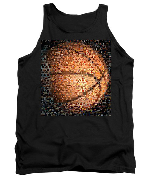 Basketball Mosaic Tank Top