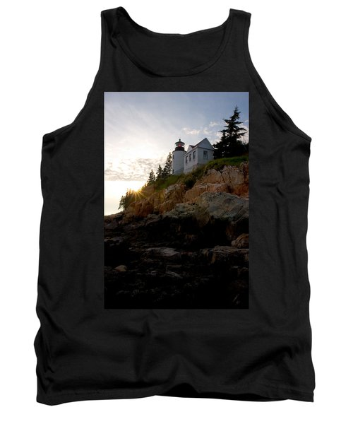 Bass Harbor Lighthouse 1 Tank Top by Brent L Ander