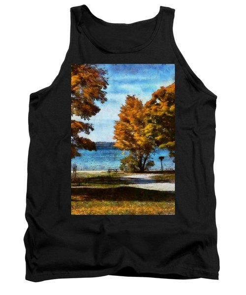 Bass Lake October Tank Top