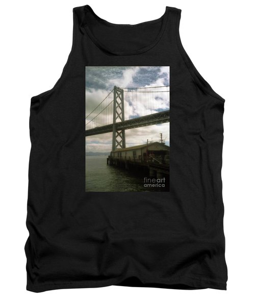 Bay Bridge San Francisco Waterfront Tank Top
