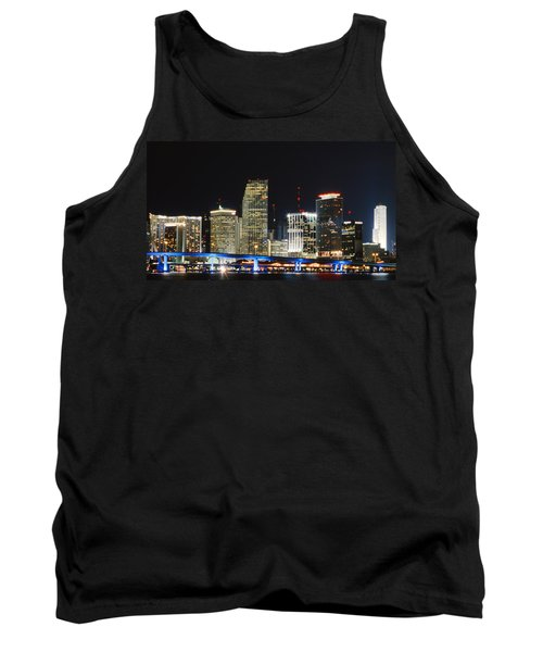 Bay Front Miami Skyline Tank Top