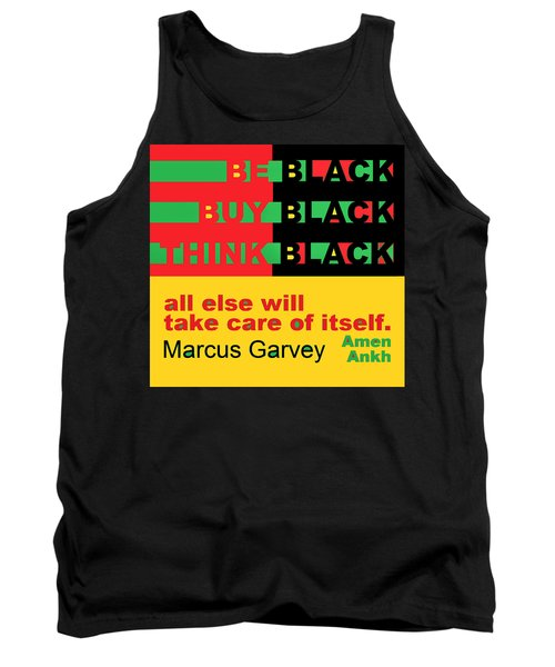 Be Black Rbg Tank Top