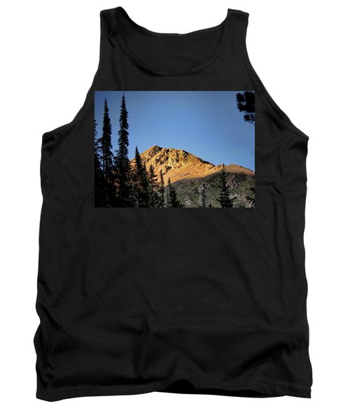 Tank Top featuring the photograph Be Still Like A Mountain ... by Jim Hill