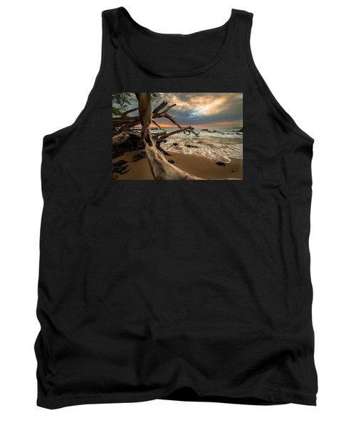 Tank Top featuring the photograph Beach 69 by Allen Biedrzycki