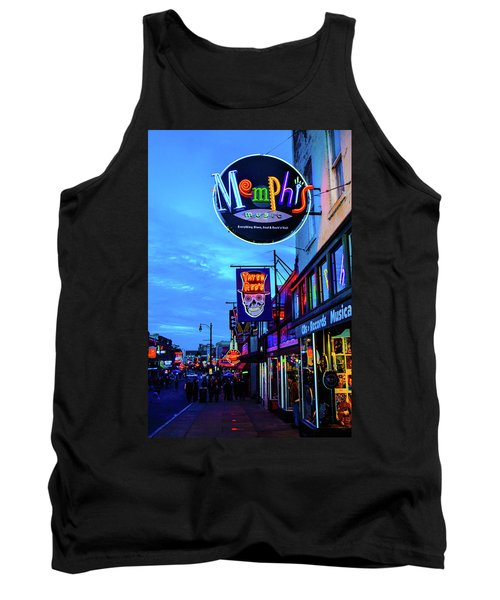 Beale Str. Blues  Tank Top