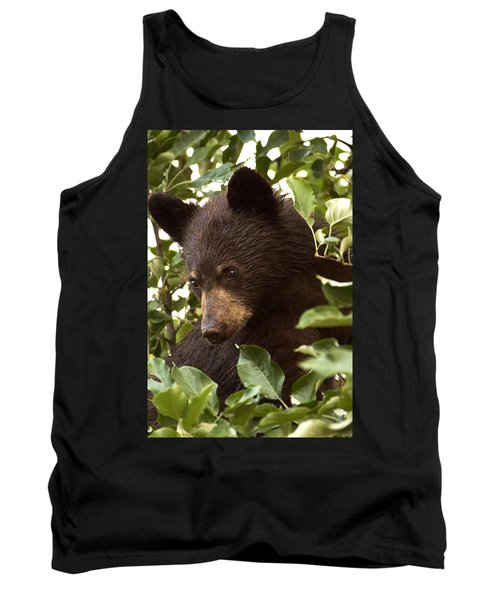 Bear Cub In Apple Tree2 Tank Top