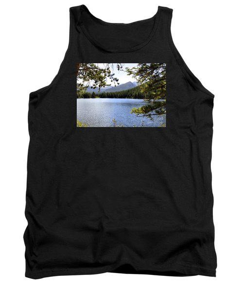 Tank Top featuring the photograph Bear Lake Rmnp by Nava Thompson