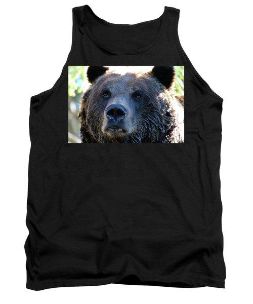 Bear On Grouse Tank Top