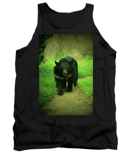 Bear On The Prowl Tank Top by Trish Tritz