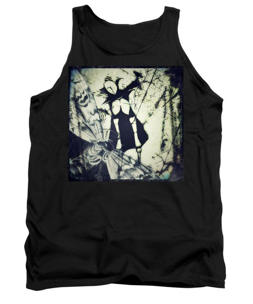 Tank Top featuring the digital art Beating Of Wings by Delight Worthyn
