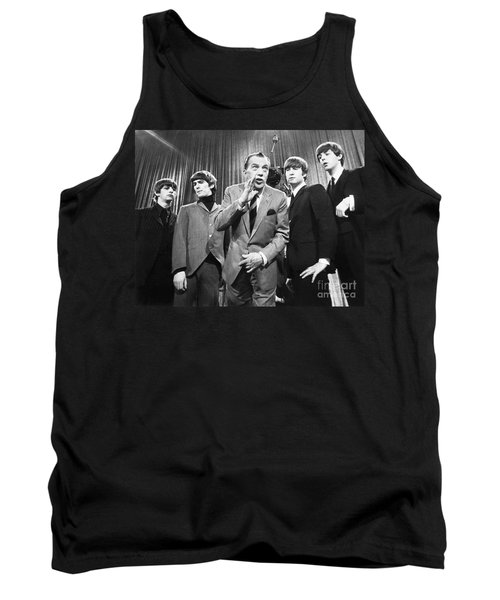 Beatles And Ed Sullivan Tank Top
