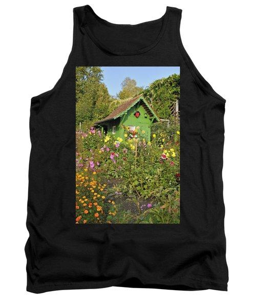 Beautiful Colorful Flower Garden Tank Top