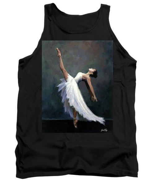Beautiful Dancer Tank Top by Janet King