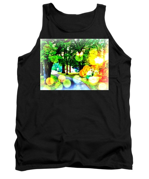 Beautiful Day For A Walk Tank Top