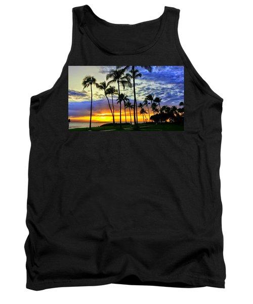 Beautiful Maui Hawaii Sunset Tank Top