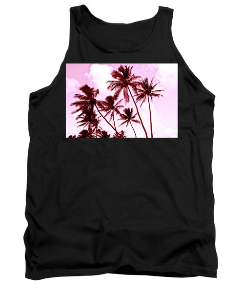 Beautiful Palms Of Maui 13 Tank Top