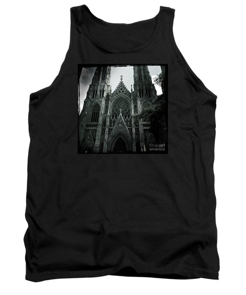 Beautiful St Patricks Cathedral Tank Top by Miriam Danar