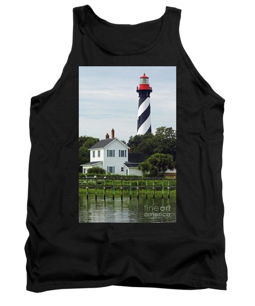 Beautiful Waterfront Lighthouse Tank Top