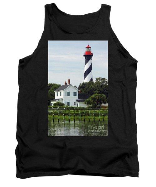 Beautiful Waterfront Lighthouse Tank Top