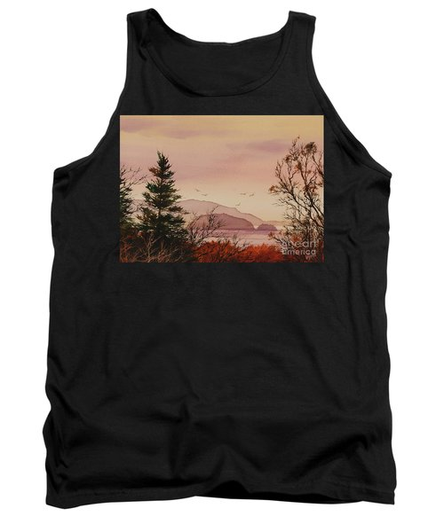 Tank Top featuring the painting Beauty At The Shore by James Williamson