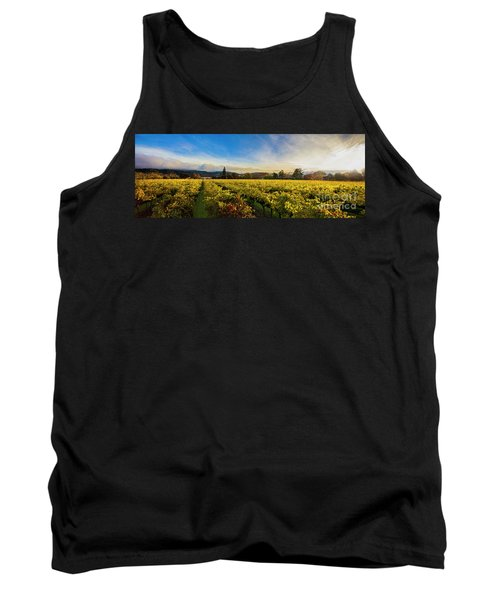 Beauty Over The Vineyard Panoramic Tank Top