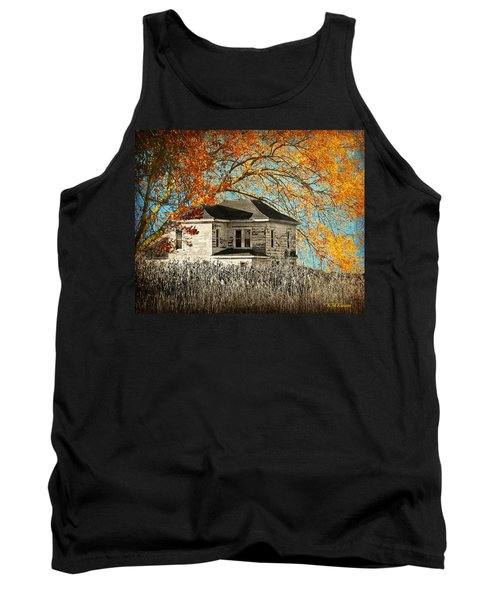 Beauty Surrounds Deserted Home Tank Top by Kathy M Krause