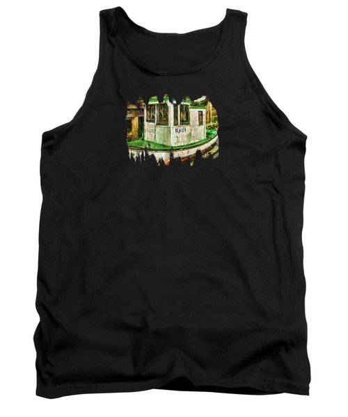 Beaver The Old Fishing Boat Tank Top