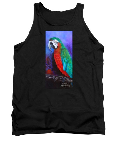 Becky The Macaw Tank Top by Jenny Lee