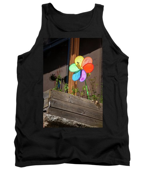 Bee A Wind Spinner? Tank Top