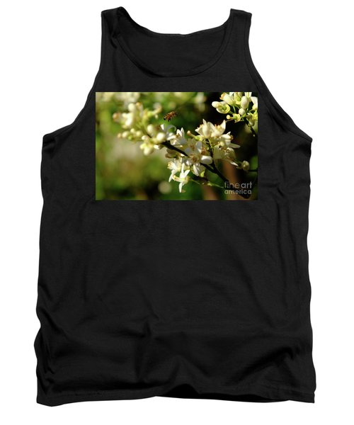 Bee Amongst The Flowers Tank Top