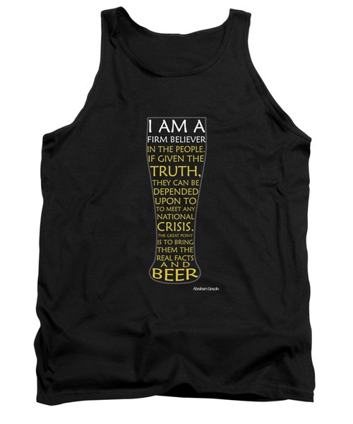 Beer Abraham Lincoln Tank Top