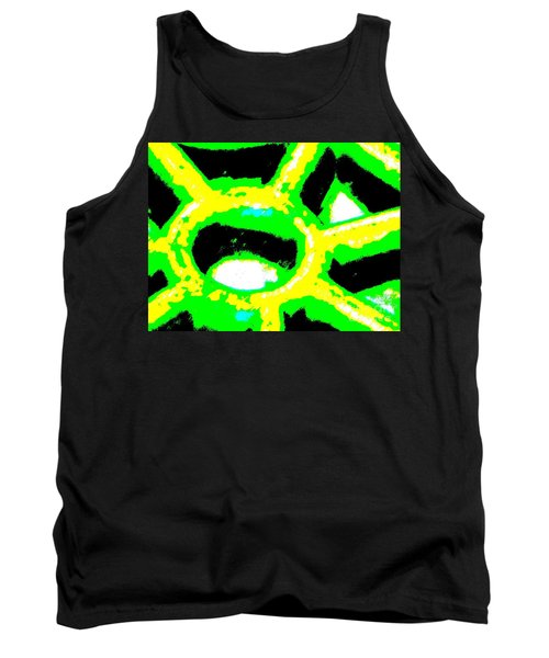 Behind The Wheel Tank Top by Tim Townsend