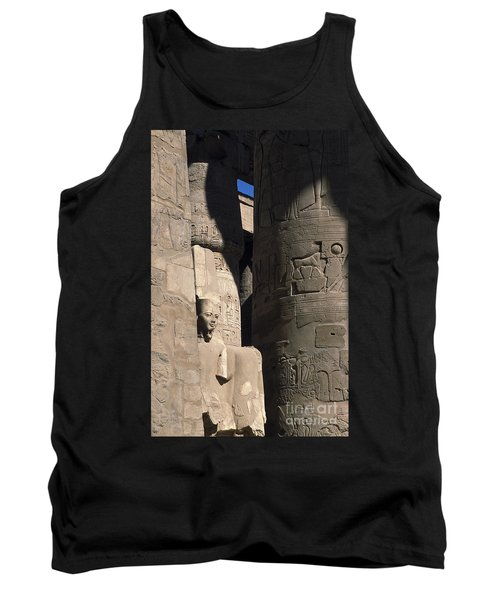 Belief In The Hereafter - Luxor Karnak Temple Tank Top