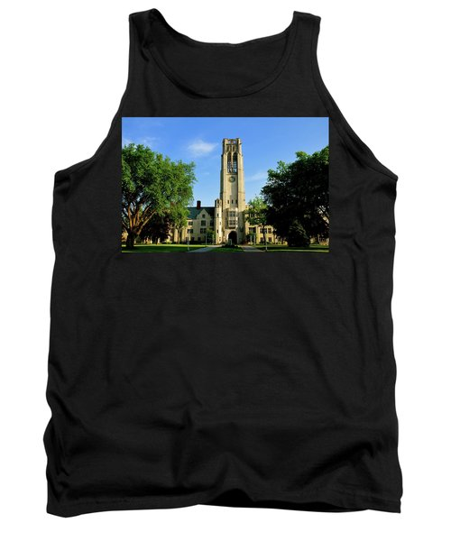 Bell Tower At The University Of Toledo Tank Top
