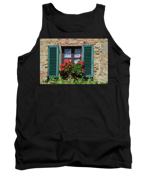 Bella Italian Window  Tank Top