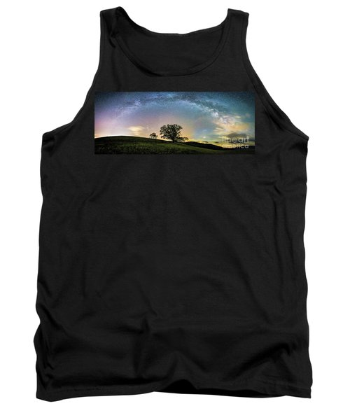 Below The Milky Way At The Blue Ridge Mountains Tank Top