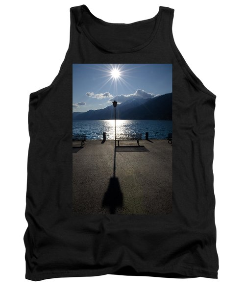 Bench And Street Lamp Tank Top