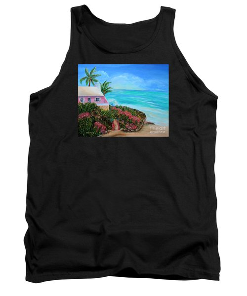 Bermuda Bliss Tank Top by Shelia Kempf