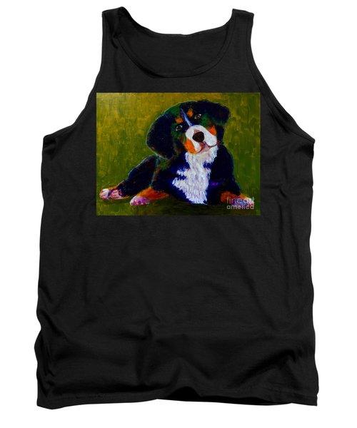Bernese Mtn Dog Puppy Tank Top