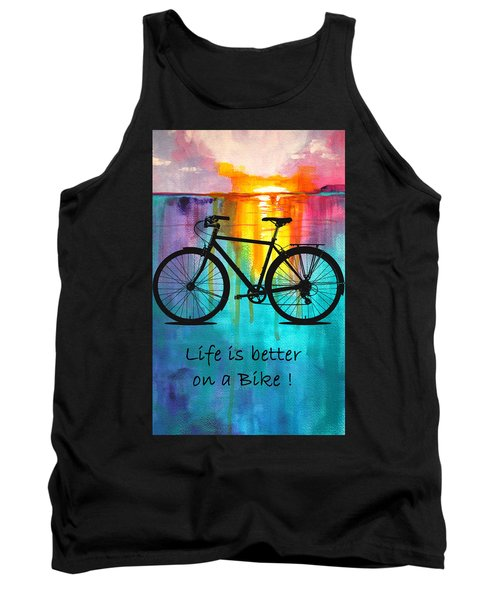 Better On A Bike Tank Top
