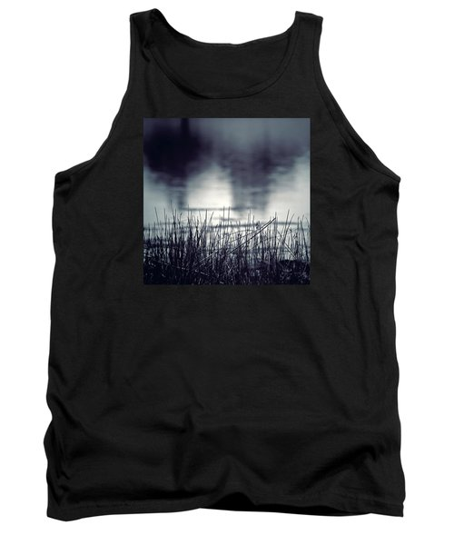 Tank Top featuring the photograph Between The Waters by Trish Mistric